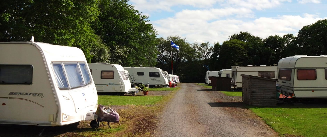 Bruce's Cave Caravan Park and Camp Site Dumfries and Galloway