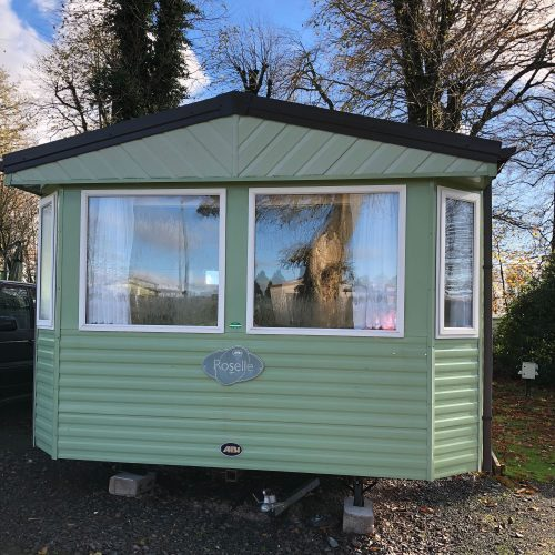 Static caravan for sale - pitch 77